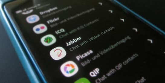 Jabber Konto Erstellen auf N9